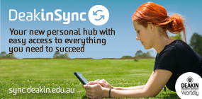 View DeakinSync, Your new personal hub with easy access to everything you need to succeed.